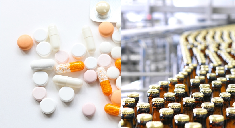 Pharmaceuticals and Foodstuffs