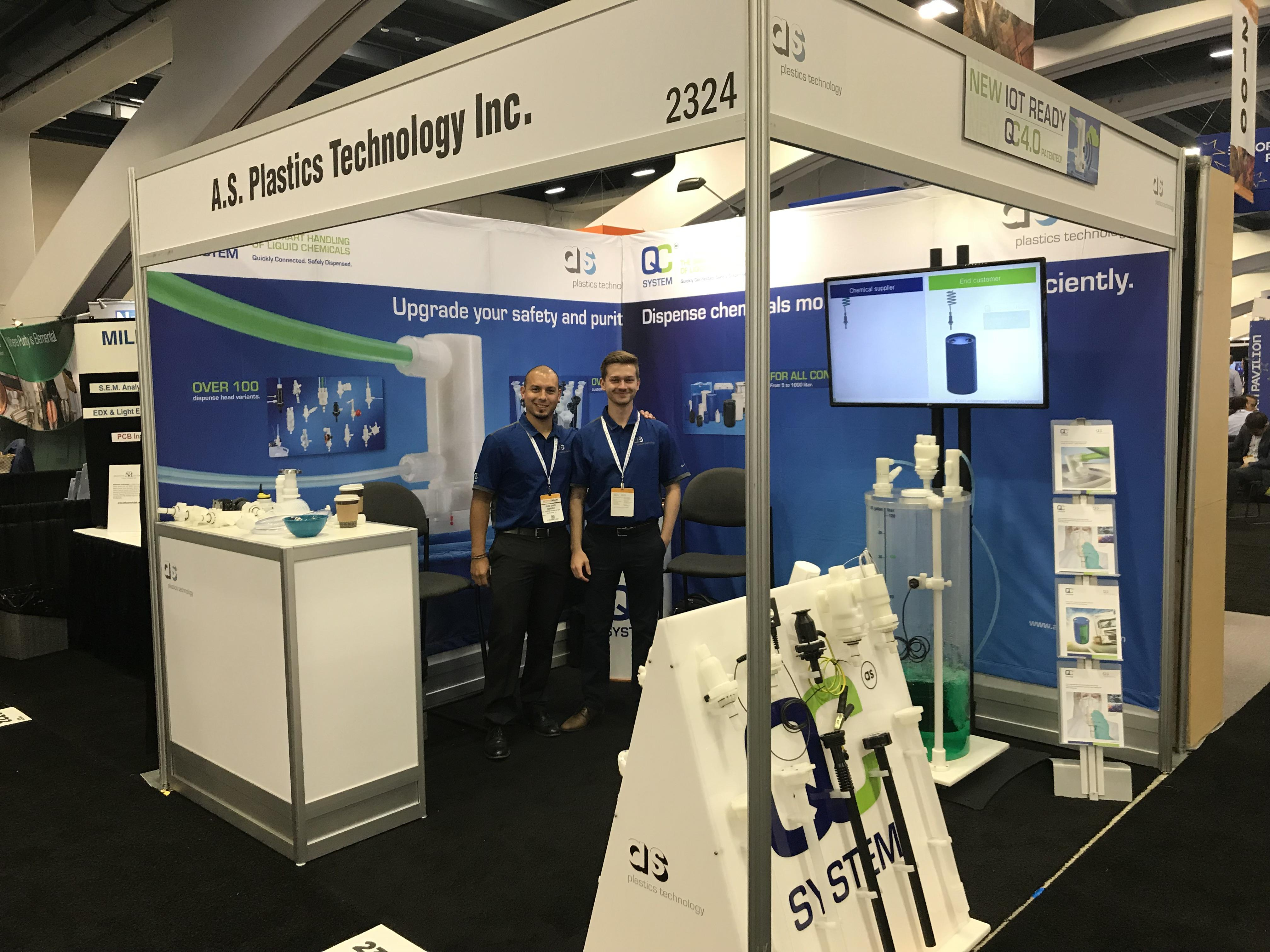 Messestand Semicon West 2018