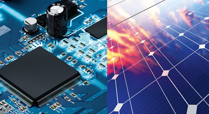 Solar and microchip