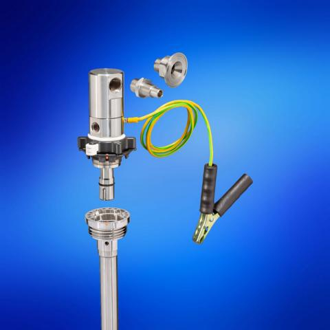 QC2 Dip Tubes and Dispense Head Stainless Steel