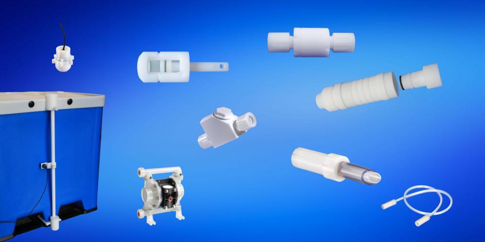 Produkte für den chemischen Anlagenbau