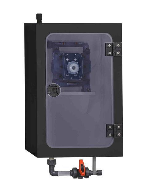 Elektisch leitfähige Pumpstation