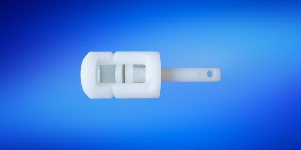 Pneumatic-Zylinder aus Kunststoff
