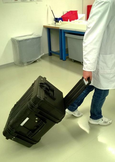 Mobiler Koffer