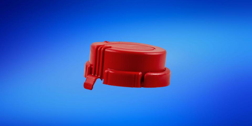 Disposable tamper-proof for KS60 canister dip tubes