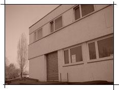 Altes Firmengebäude aus Bernhausen